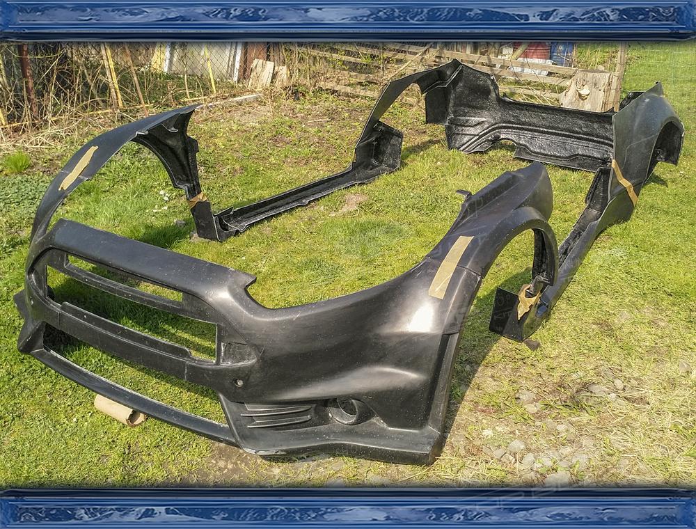 Ford Fiesta MK7 R5 Wide Body Kit